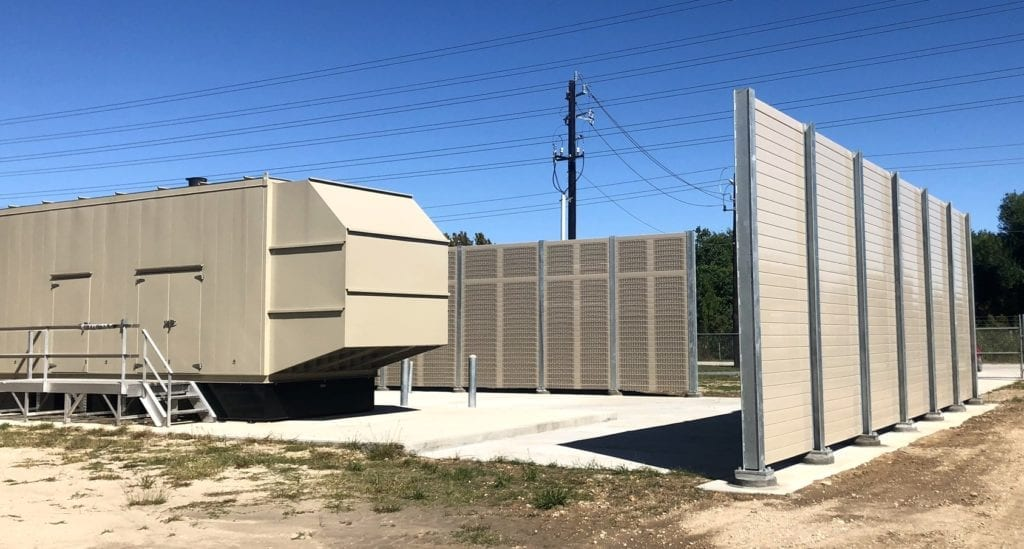 Wide view of 14' pumping station noise barrier walls.jpg